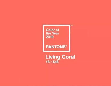 PANTONE公布2019年度代表色