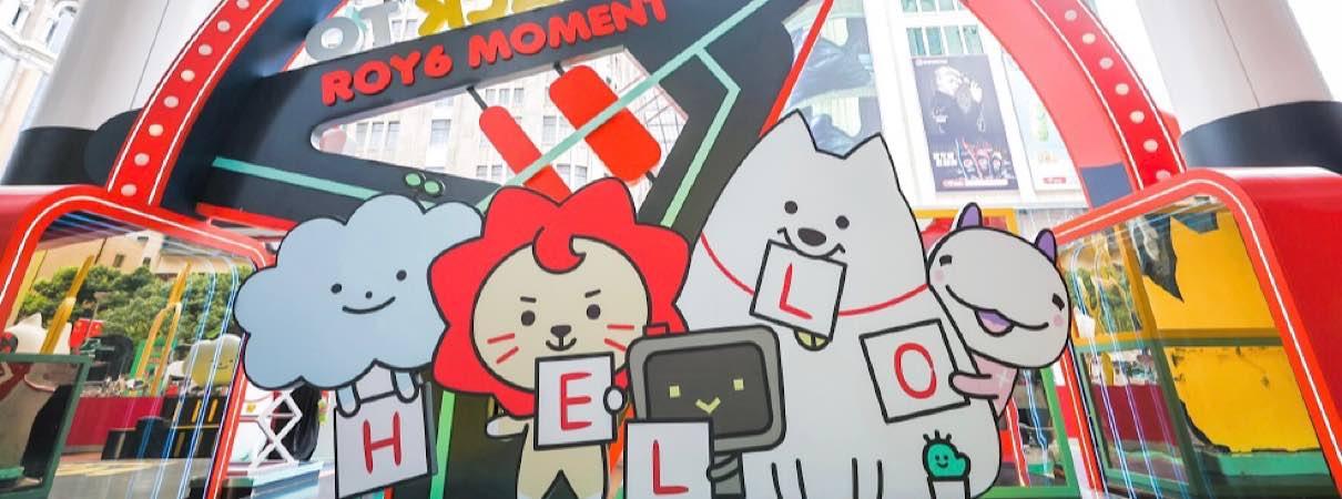 ROY6登录上海世贸广场 瑞迪欧…
